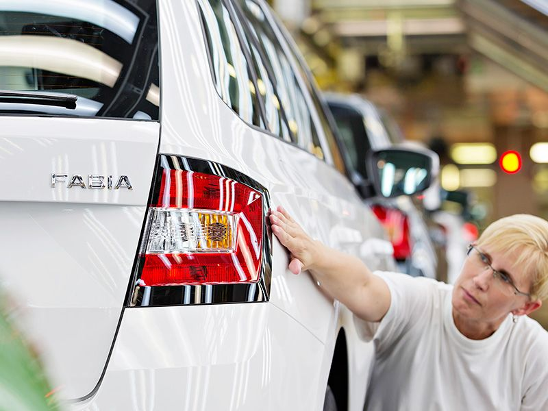 Škoda celebra cuatro millones de Fabia y 500.000 de la tercera generación