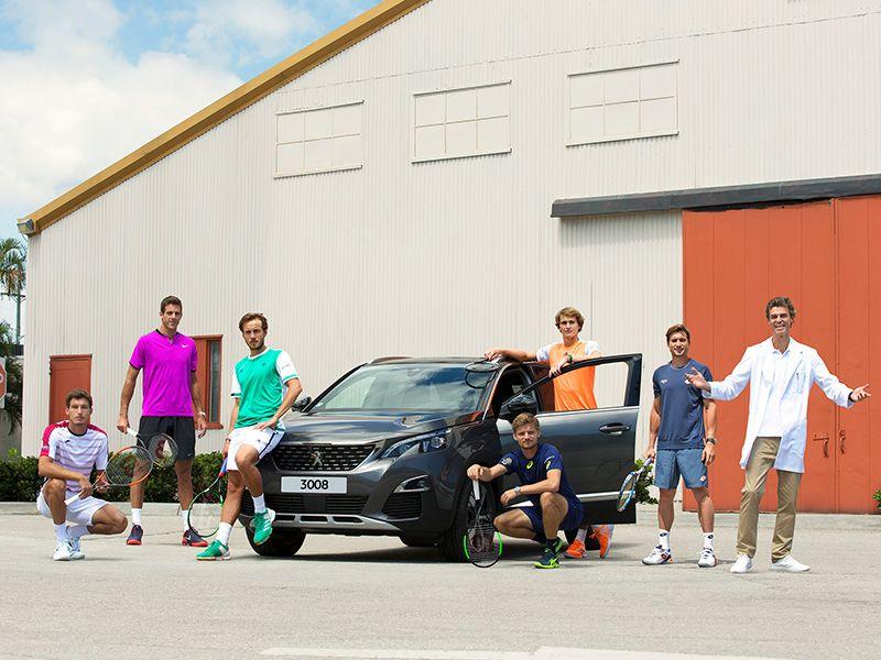 Peugeot anuncia a sus embajadores mundiales para la temporada 2017-18 de tenis