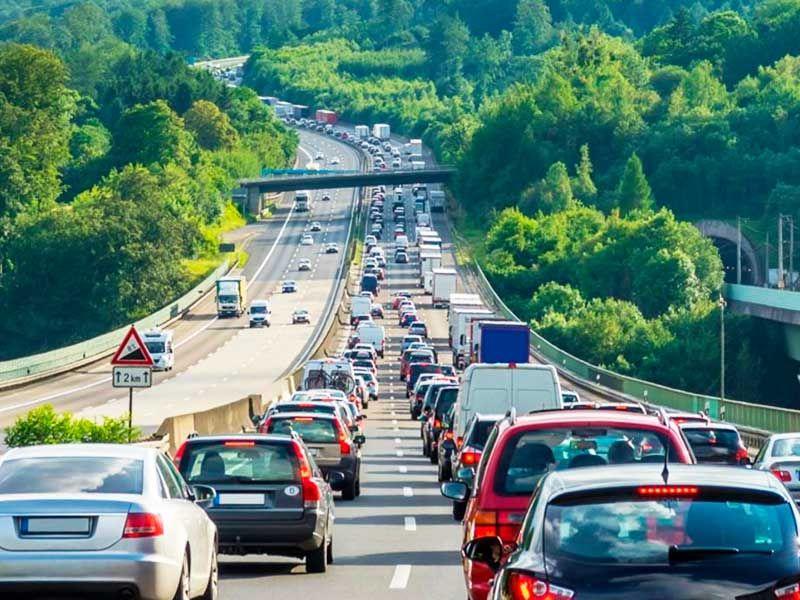 Consejos para conducir en un atasco