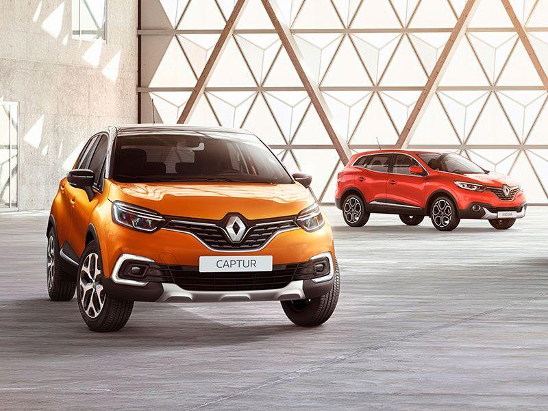 Renault, marca líder en España en junio de 2017