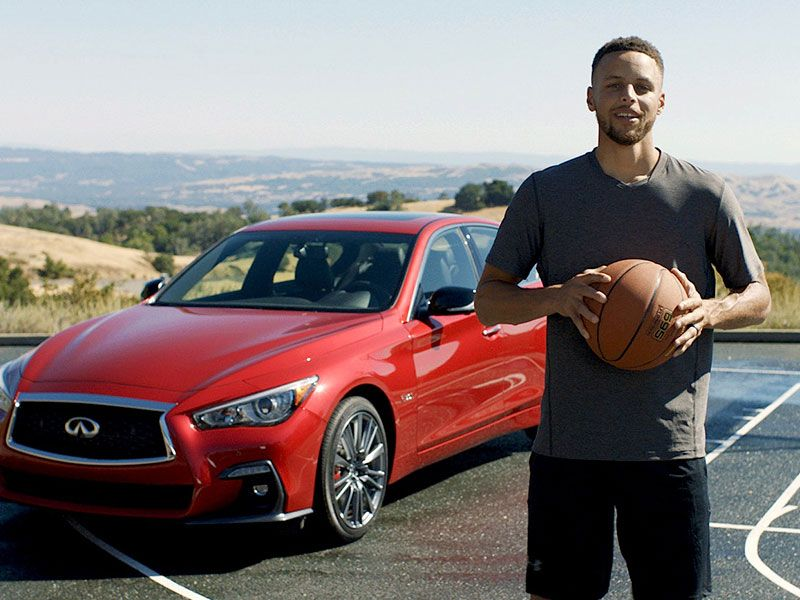 Stephen Curry, nuevo embajador de marca de INFINITI a nivel global
