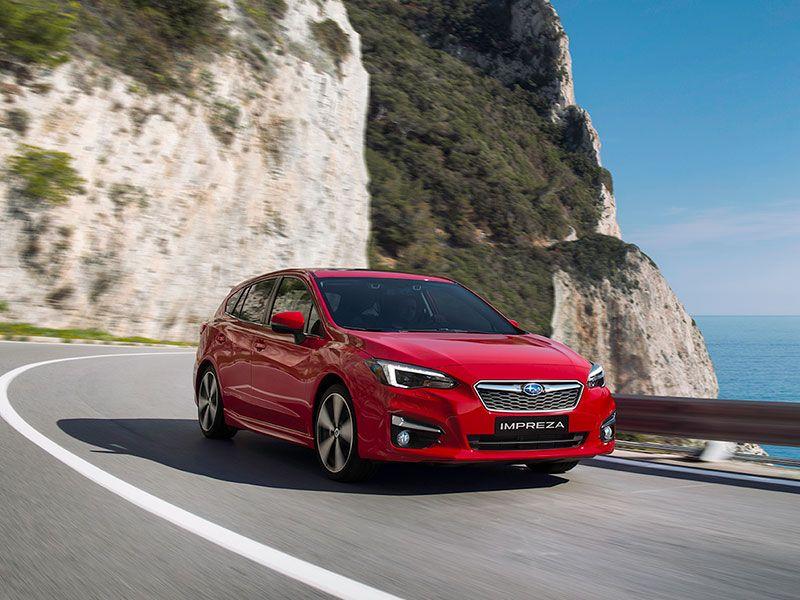 El Subaru Impreza 2018 debutará en el Salón de Frankfurt