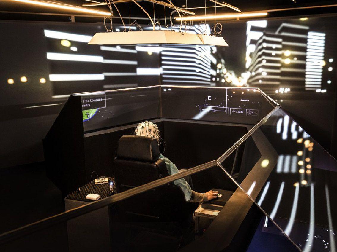 Audi investiga el uso del tiempo en el coche mediante un simulador