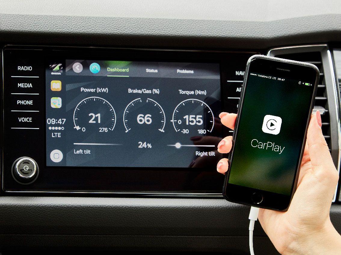 Škoda OneApp: Conectividad única, amplia gama de funciones