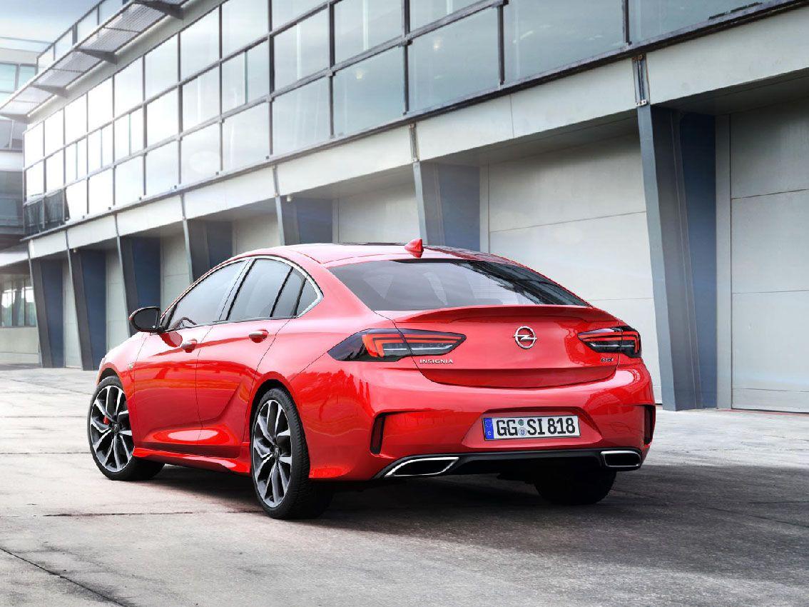 Se podrá ver el Opel Insignia GSi en el Salón de Frankfurt
