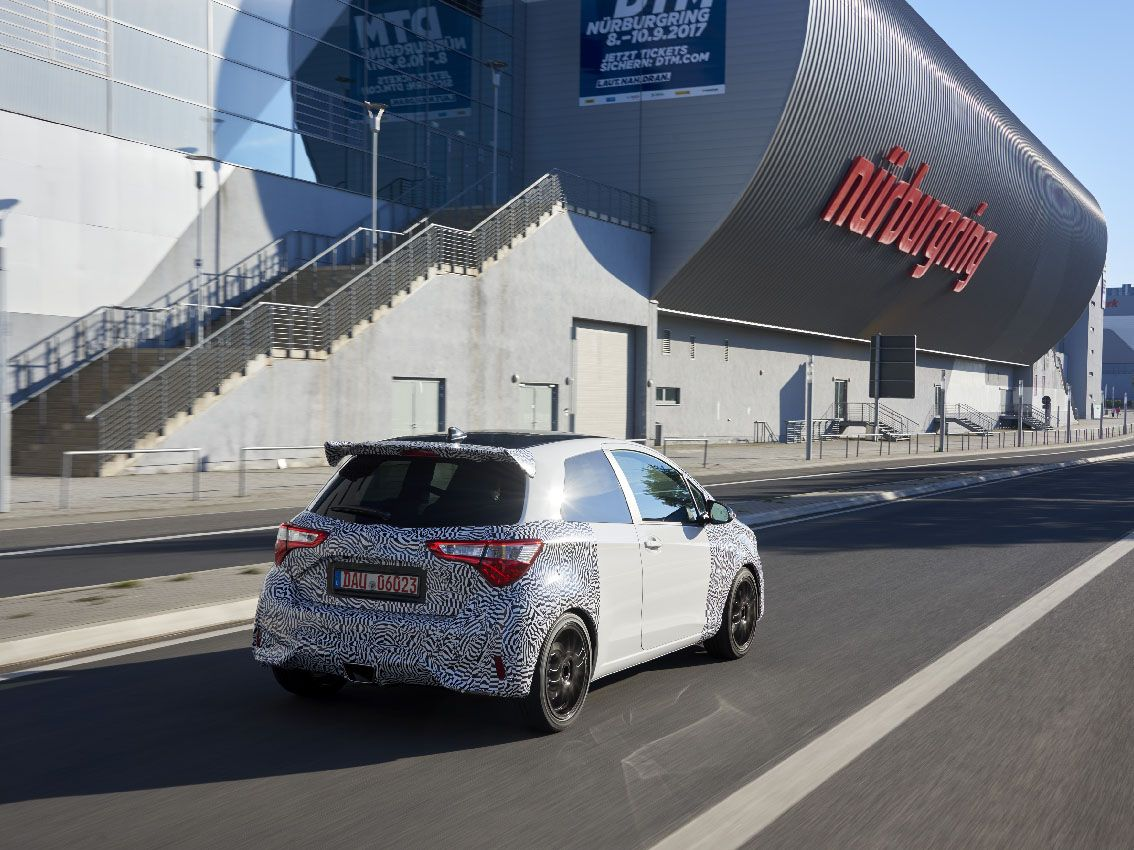 Toyota presenta en Nürburgring el nuevo Yaris GRMN
