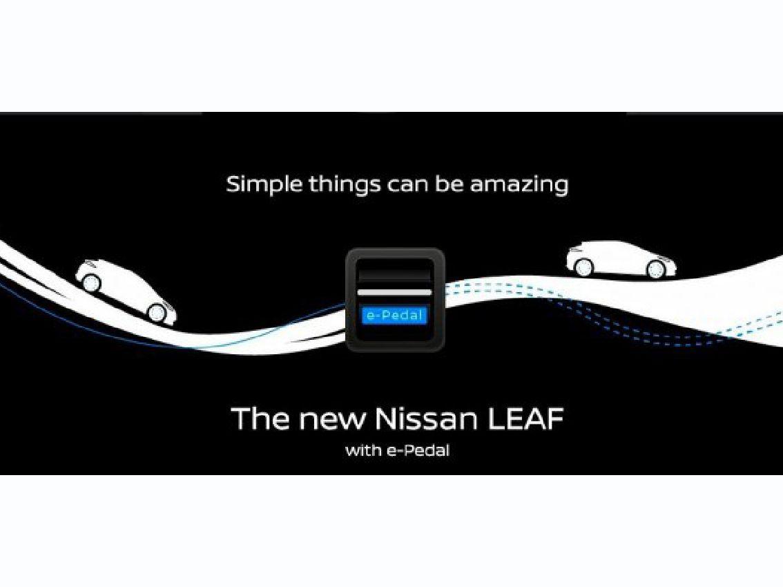 Las cosas sencillas pueden ser asombrosas gracias al nuevo Nissan LEAF con e-Pedal