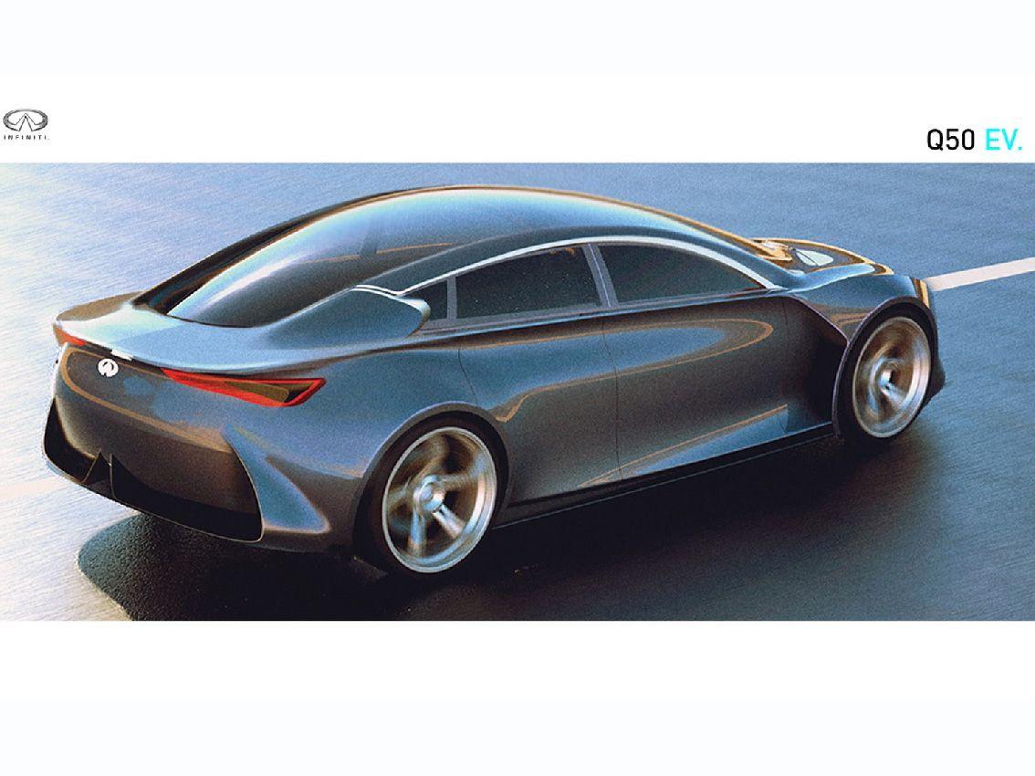 Infiniti Q50 EV, el coche del futuro de 2025