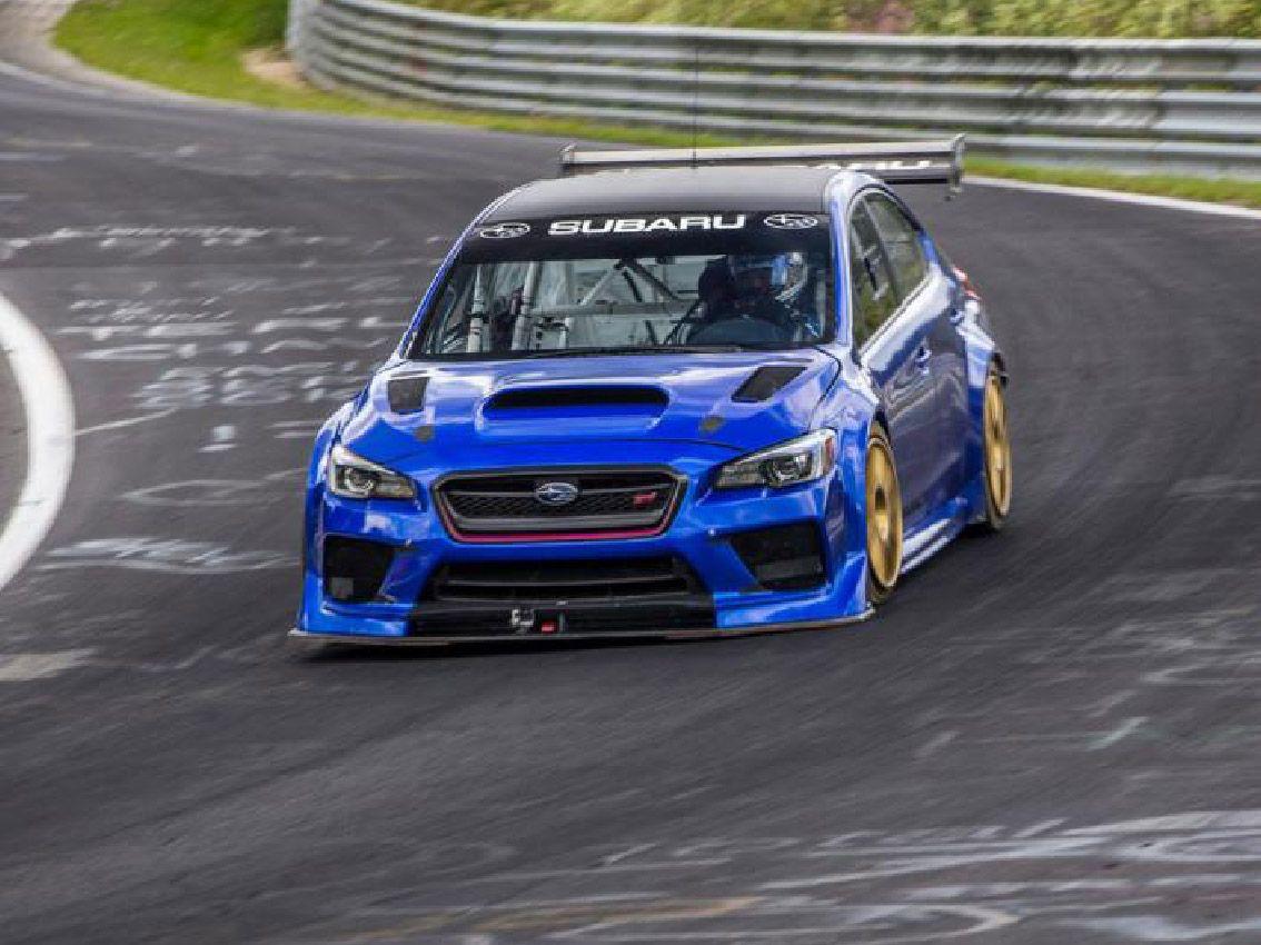 El Suburu WRX STI bate el récord del circuito de Nürburgring