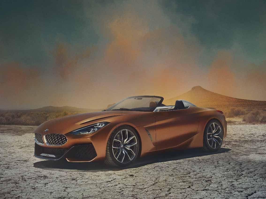 BMW Concept Z4. Libertad sobre cuatro ruedas