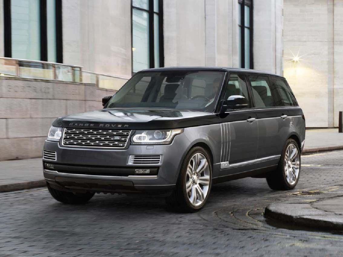 Range Rover introdueix el paquet SVO per ser més agressiu i esportiu