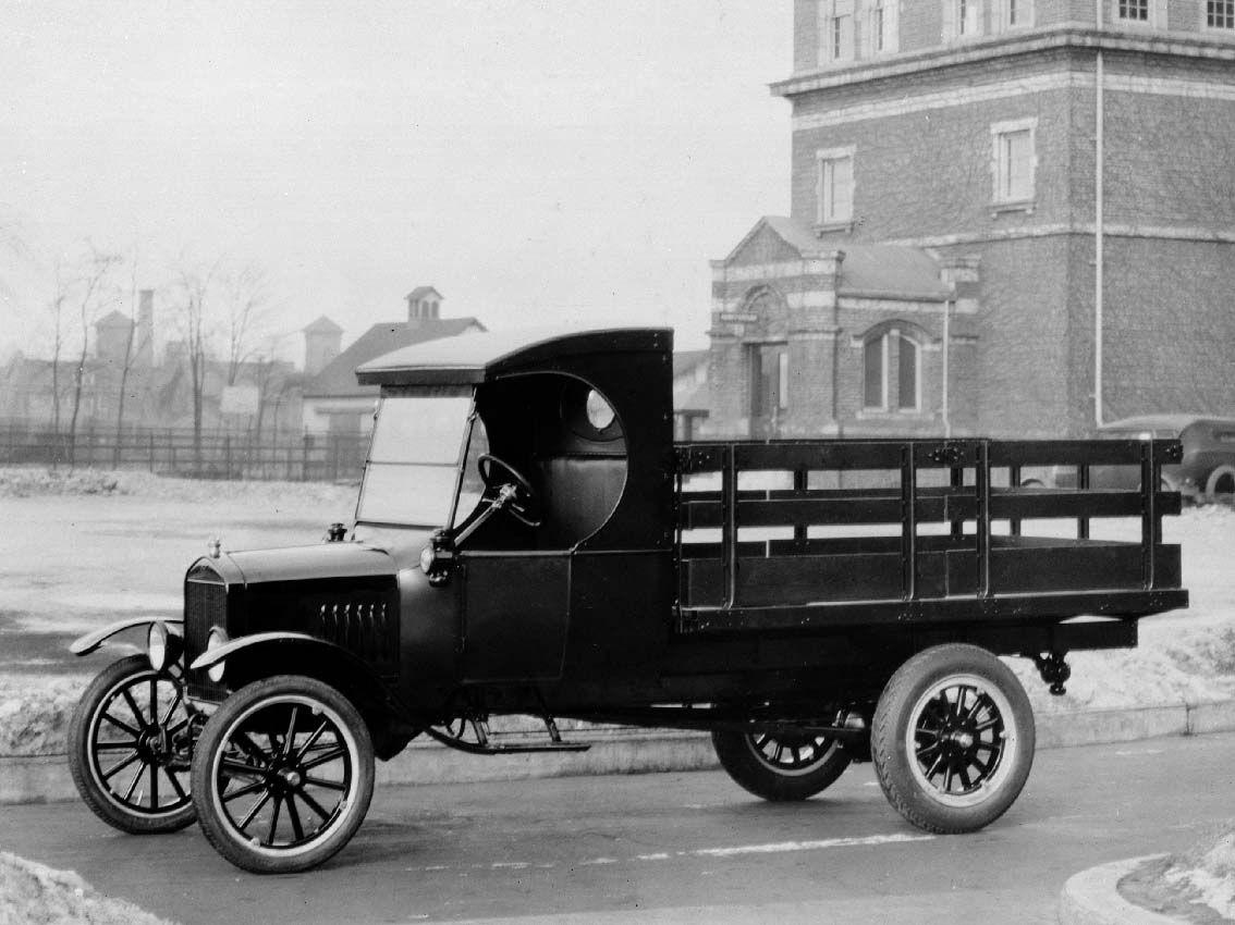 Hace 100 años que Ford lanzó el modelo TT, precursor del vehículo comercial actual