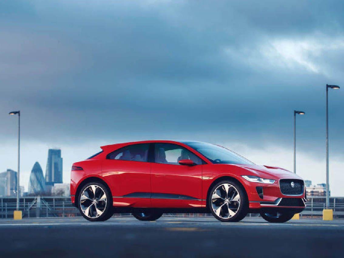 El Jaguar I-PACE Concept ganador del prototipo más significativo del año