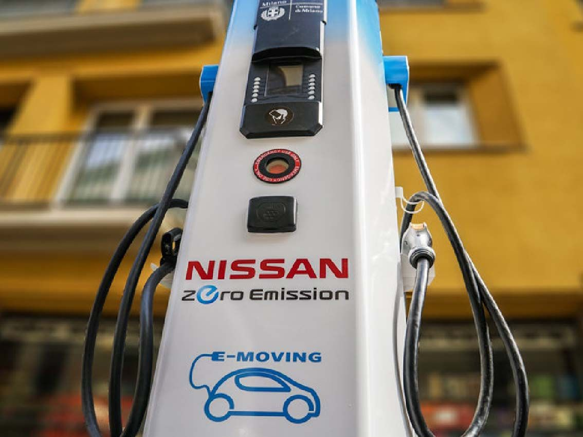 Nissan tiene la red de recarga más extensa de toda Europa