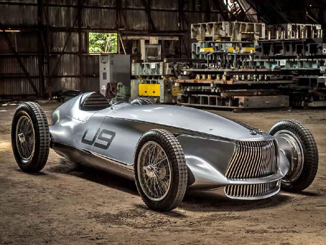 INFINITI Prototype 9, un viaje al pasado que rinde homenaje a la pasión por el diseño