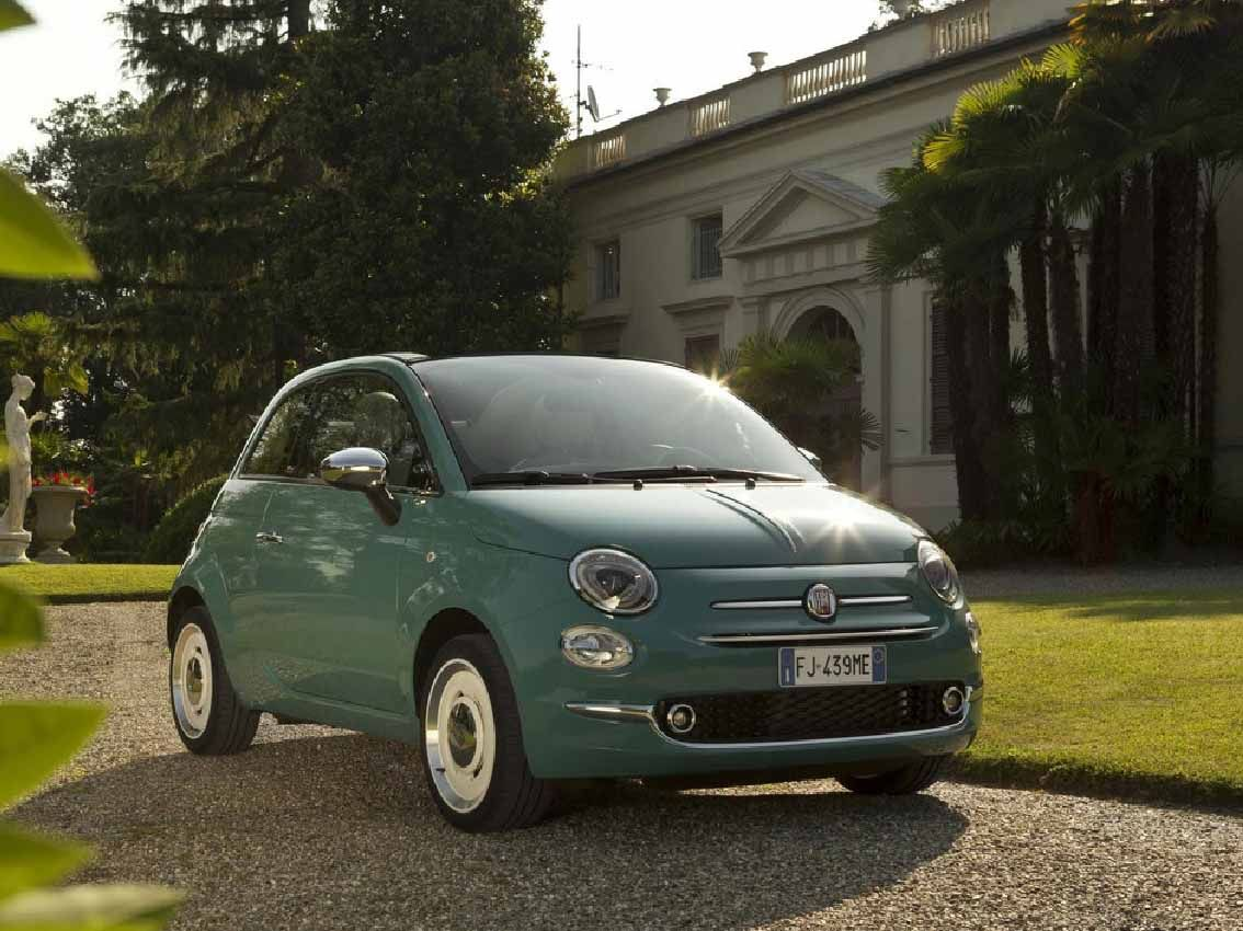 El Fiat 500 celebra el 60 aniversario entrando en el top10 de modelos más vendidos en España