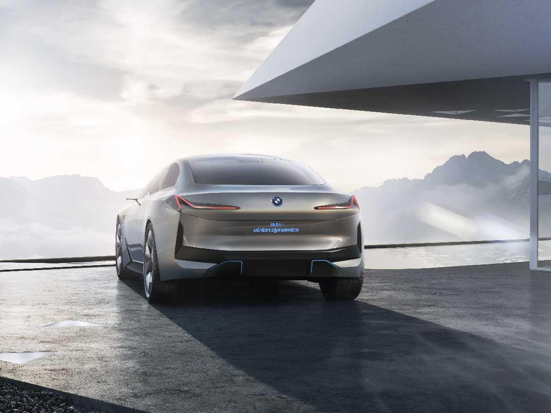 BMW i Vision Dynamics, una nueva interpretación electrificada del placer de conducir