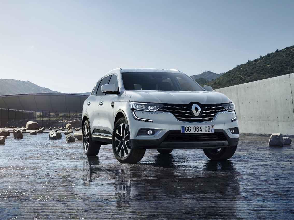 El nuevo Renault KOLEOS obtiene la nota máxima de 5 estrellas en los tests de Euro NCAP