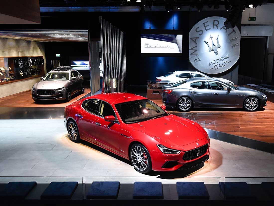 Se presenta el nuevo Maserati Ghibli, Levante, Quattroporte, GranTurismo y GranCabrio MY18 en el Salón de Frankfurt