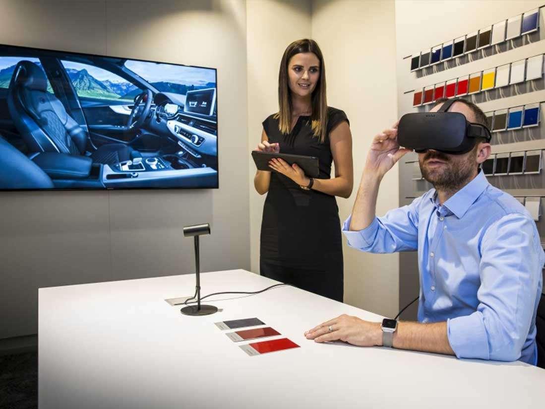 Audi utiliza la tecnología de Realidad Virtual en sus concesionarios