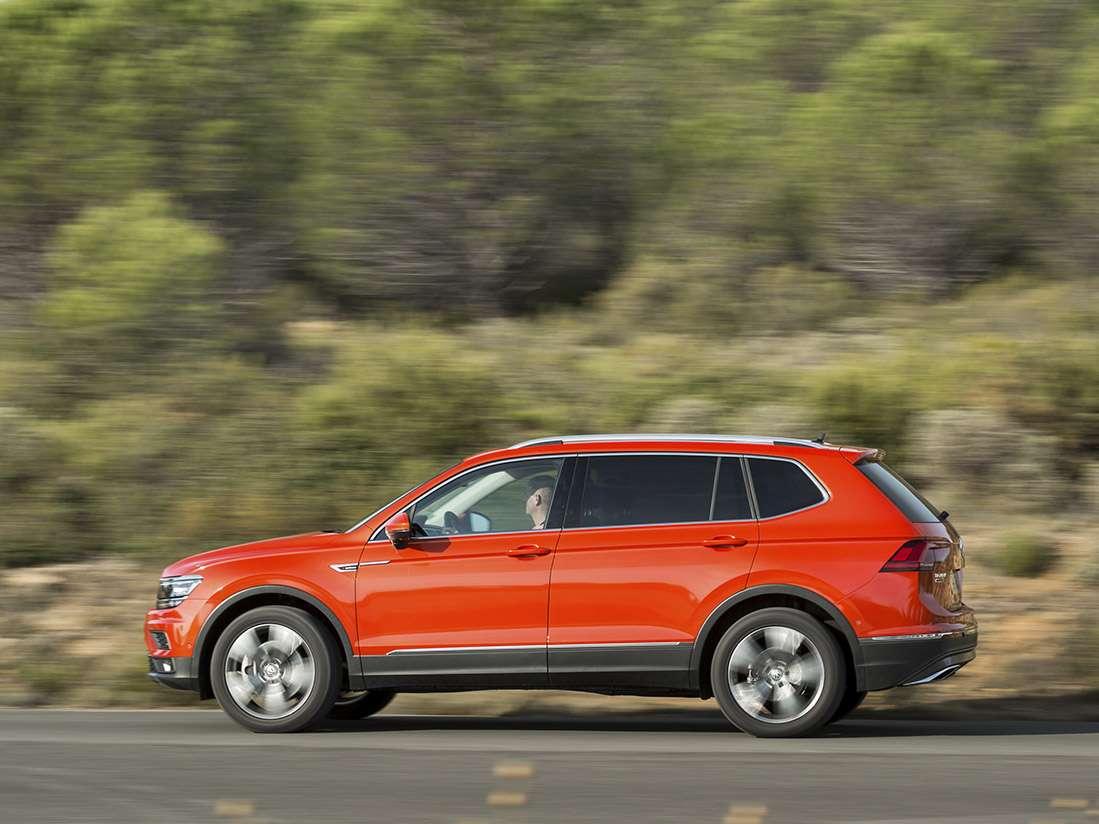 Volkswagen continúa su ofensiva SUV con el lanzamiento del nuevo Tiguan Allspace