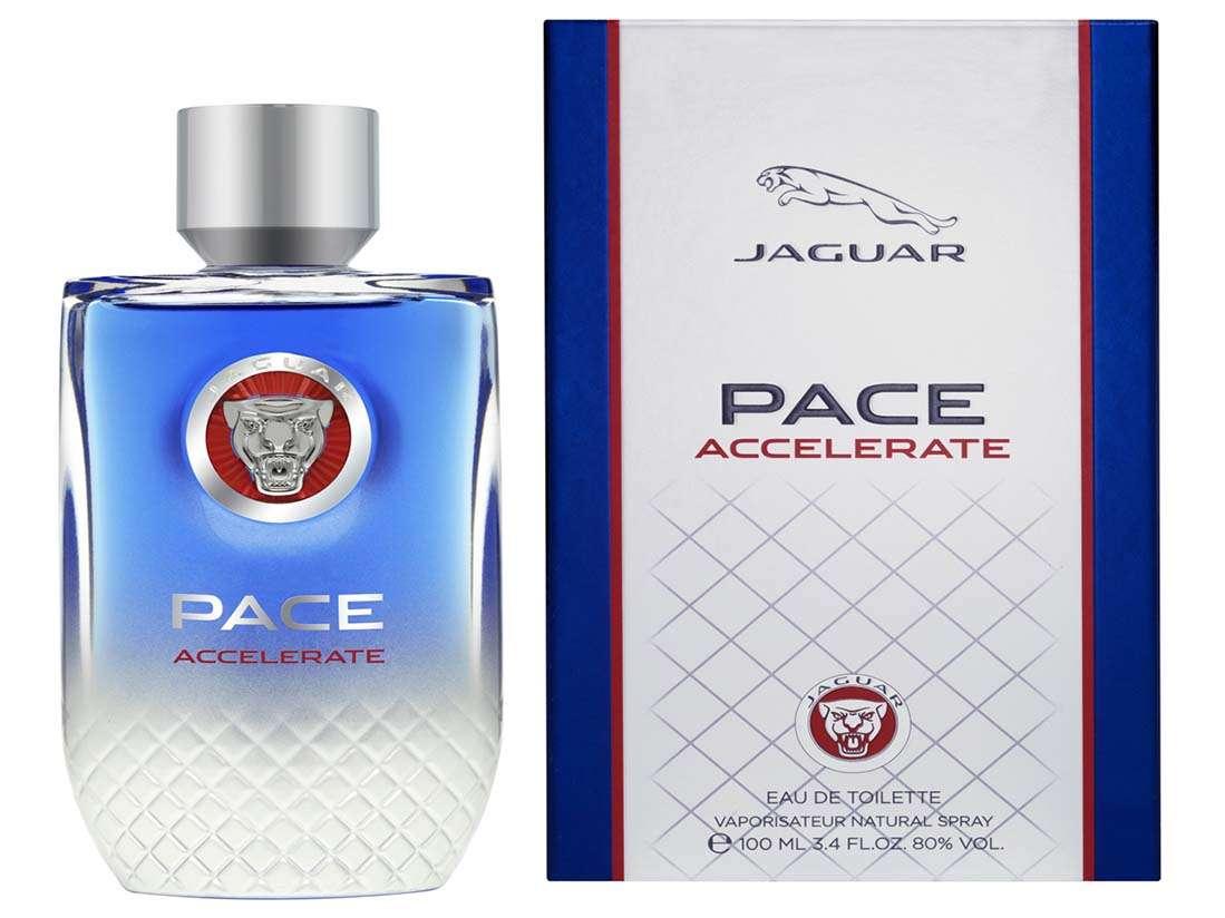 Jaguar Pace Accelarate, una fragancia para los amantes del motor