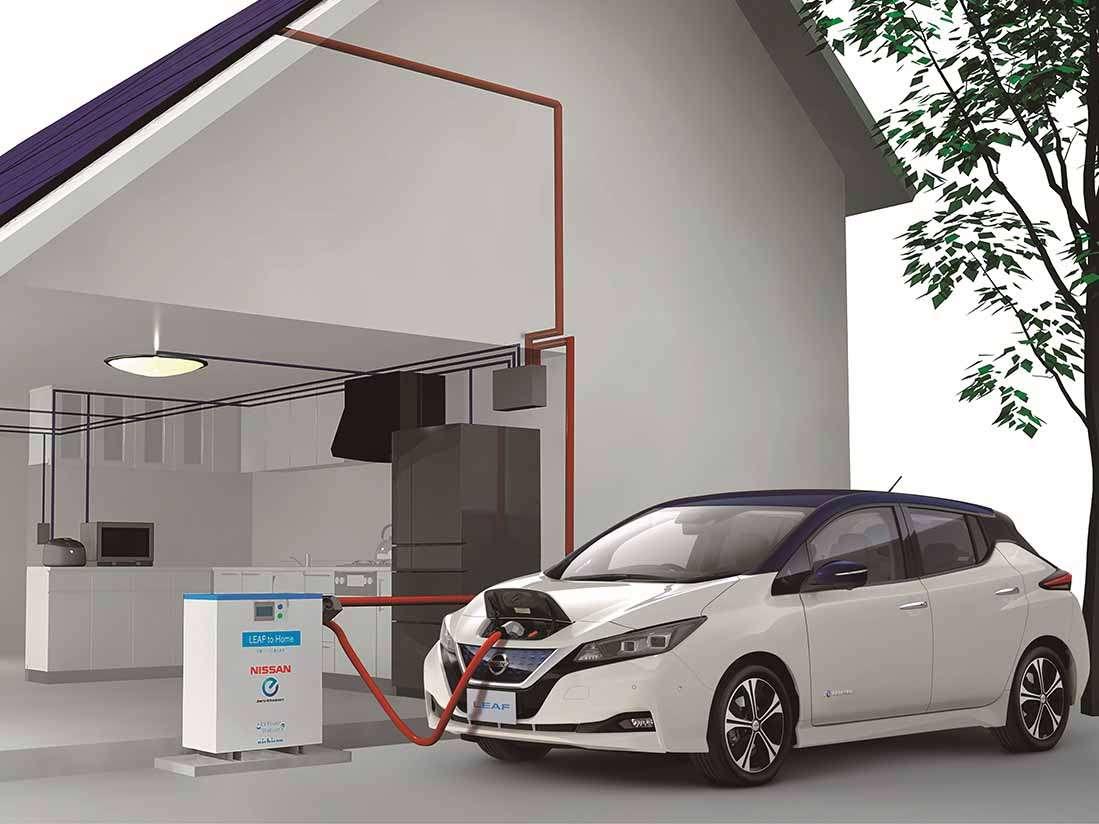 El nuevo Nissan LEAF, el vehículo del futuro en el presente, el icono de la Movilidad Inteligente de Nissan