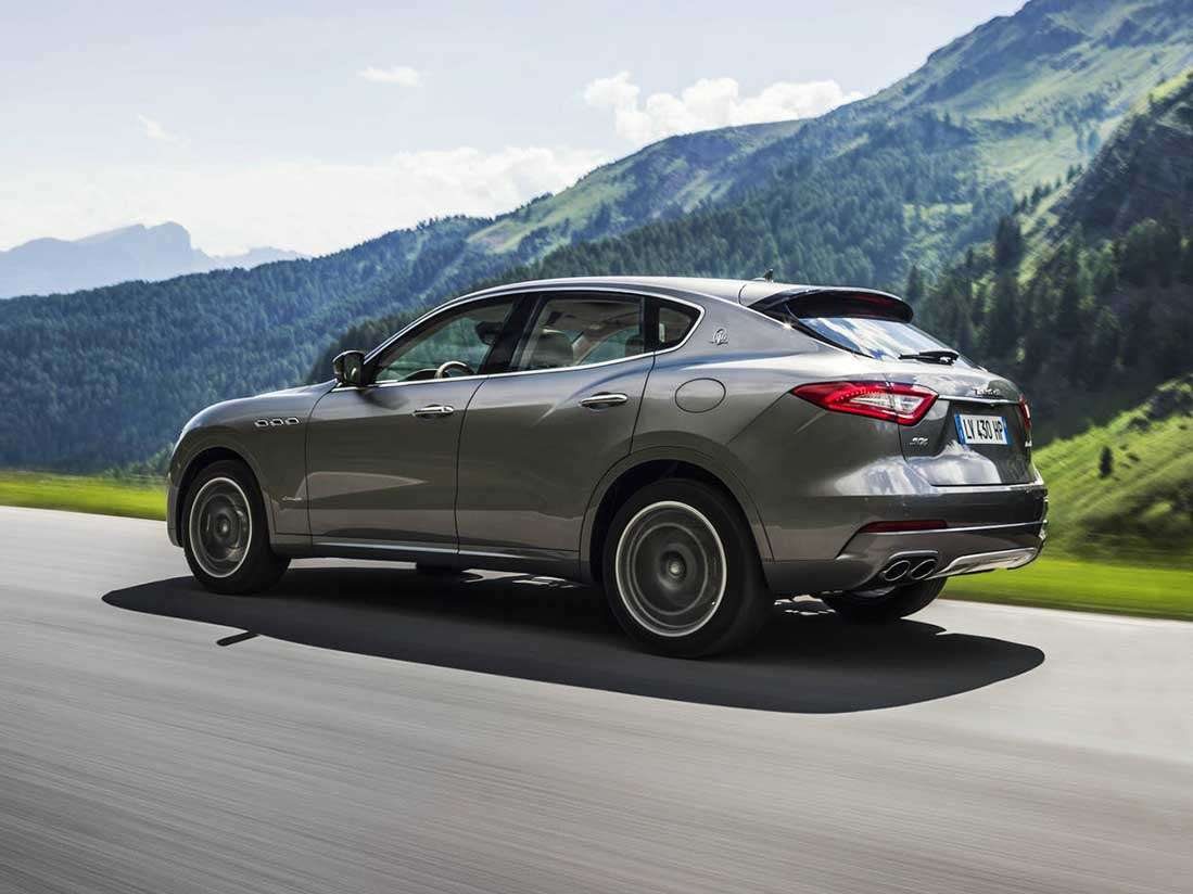 Maserati Levante, uno de los responsables del éxito reciente de la marca