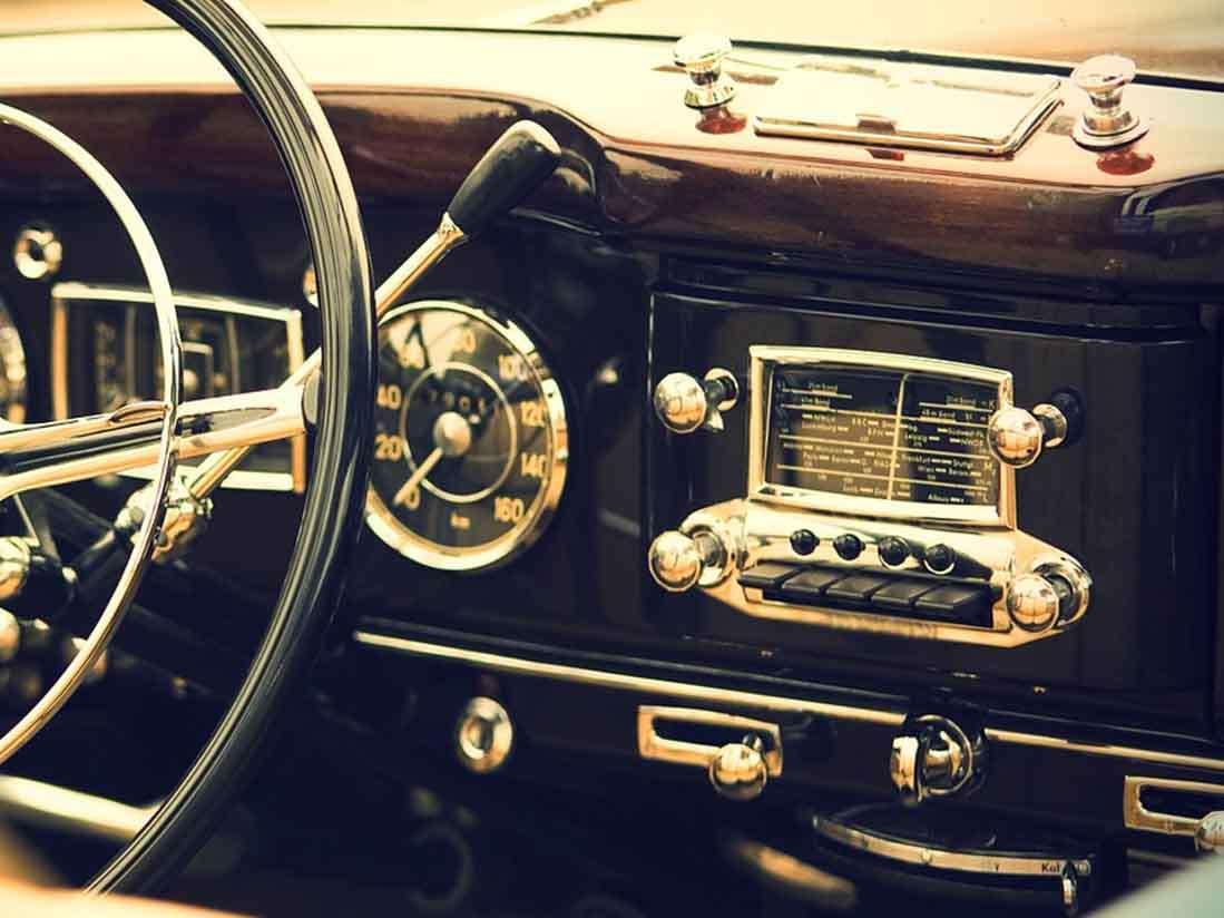 Si tienes un coche de más 30 años puedes pedir la concesión de matrícula histórica