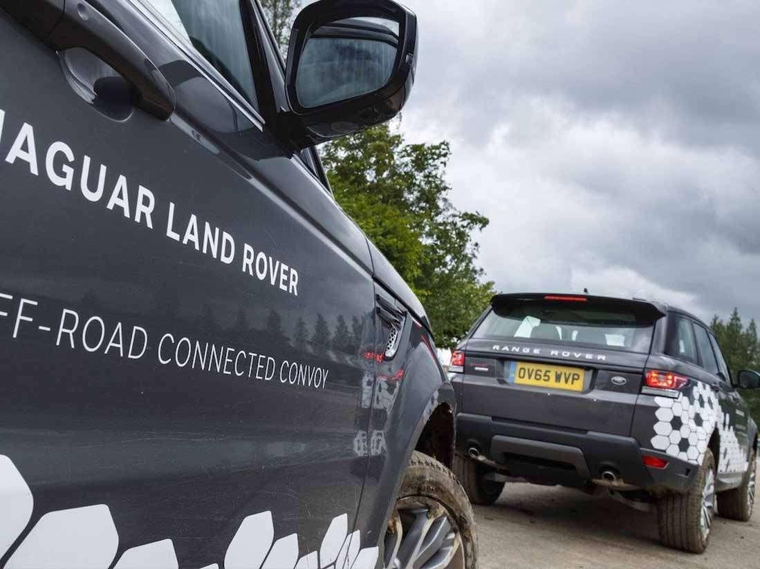 El Grupo Jaguar Land Rover empieza las pruebas en vehículos autónomos en carretera
