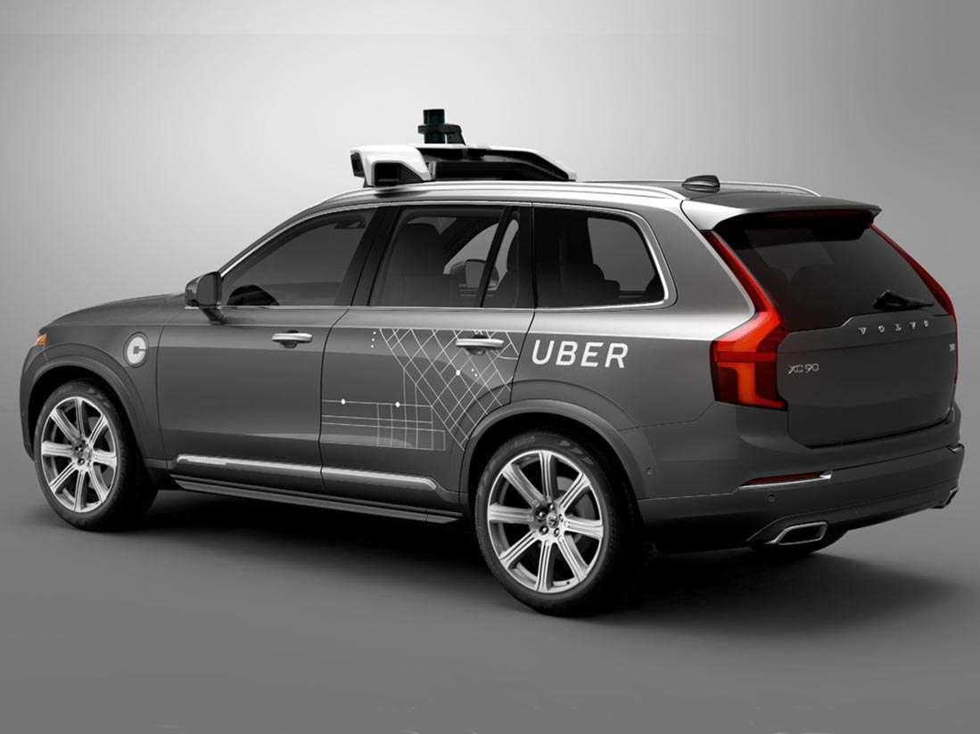 Uber compra 24.000 vehículos Volvo XC90 para su flota autónoma
