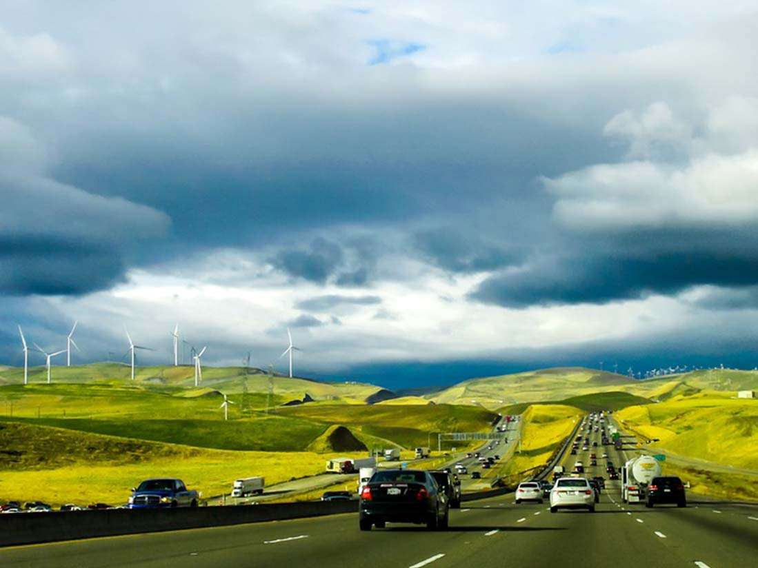 Consells per conduir amb vents extrems