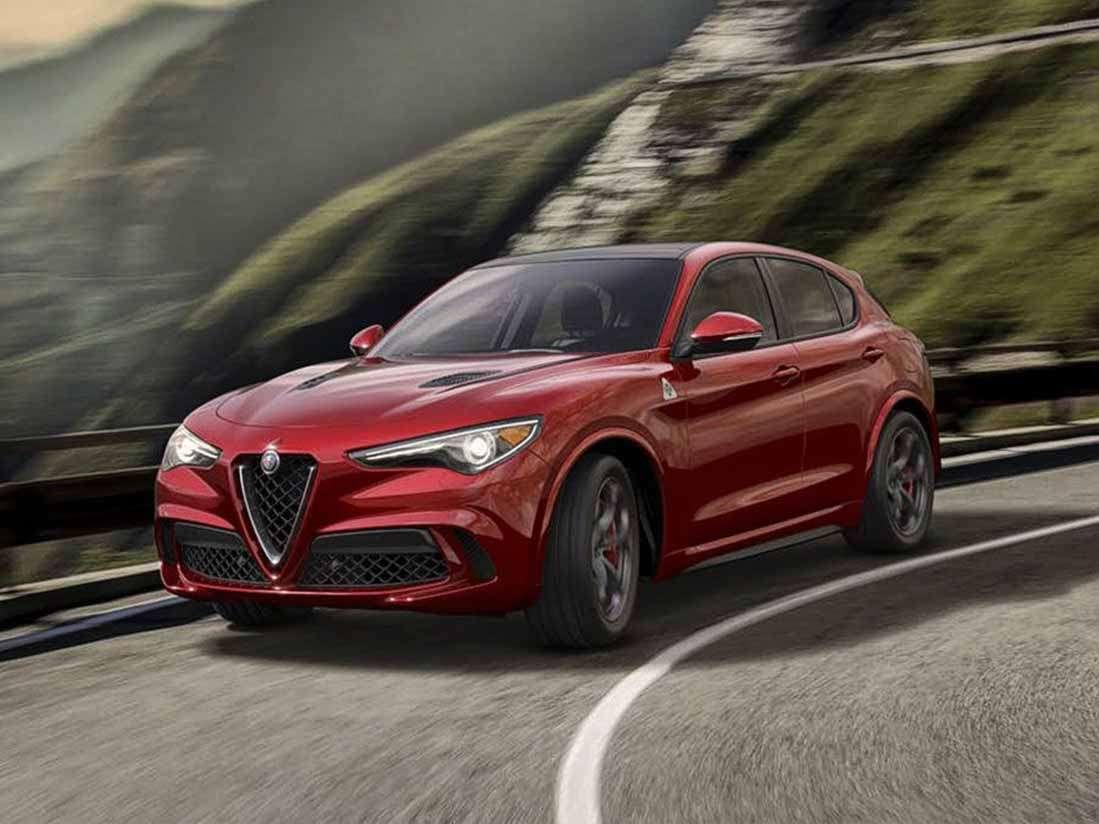 Alfa Romeo Stelvio Quadrifoglio International Media drive