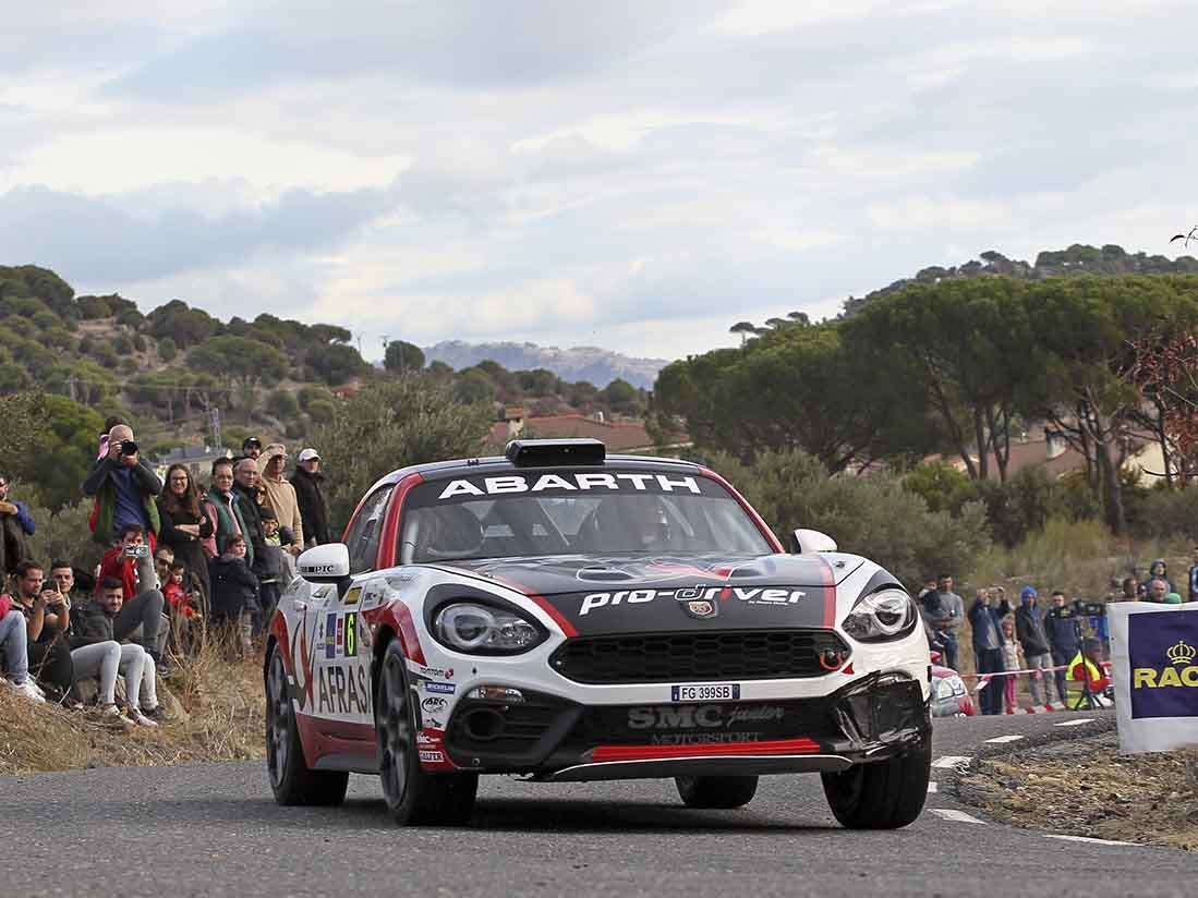 El Abarth 124 Rally brilla en Madrid y se alza con el Trofeo de España de GT