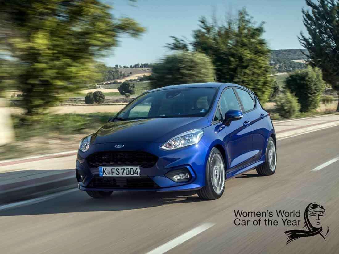 El Nuevo Ford Fiesta ofrece más tecnología y estilo que nunca según el equipo de expertas que compone el jurado de los Women's World Car of the Year