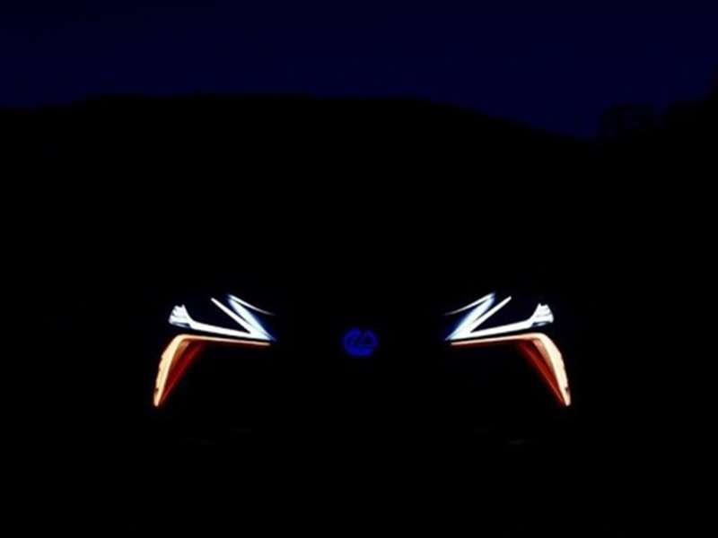 Lexus muestra cómo serán los faros del nuevo LF-1 Limitless Concept