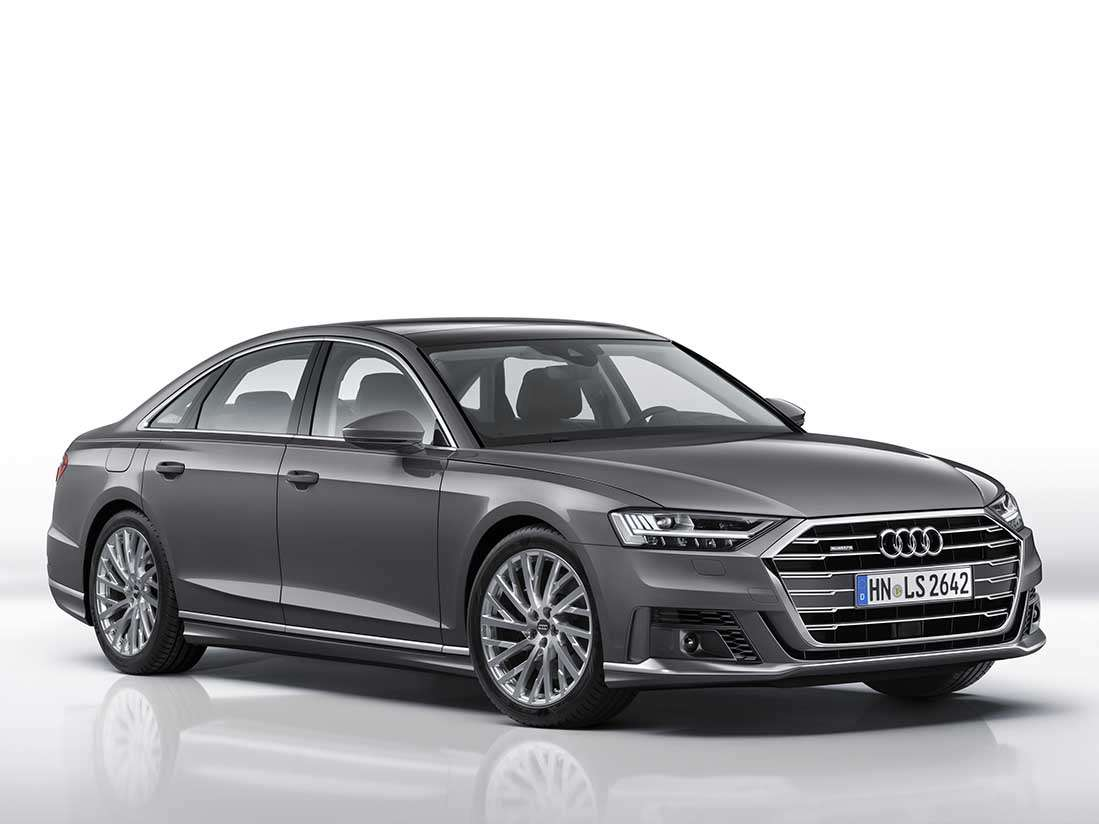 Més dinamisme pel nou Audi A8 amb el paquet exterior esportiu