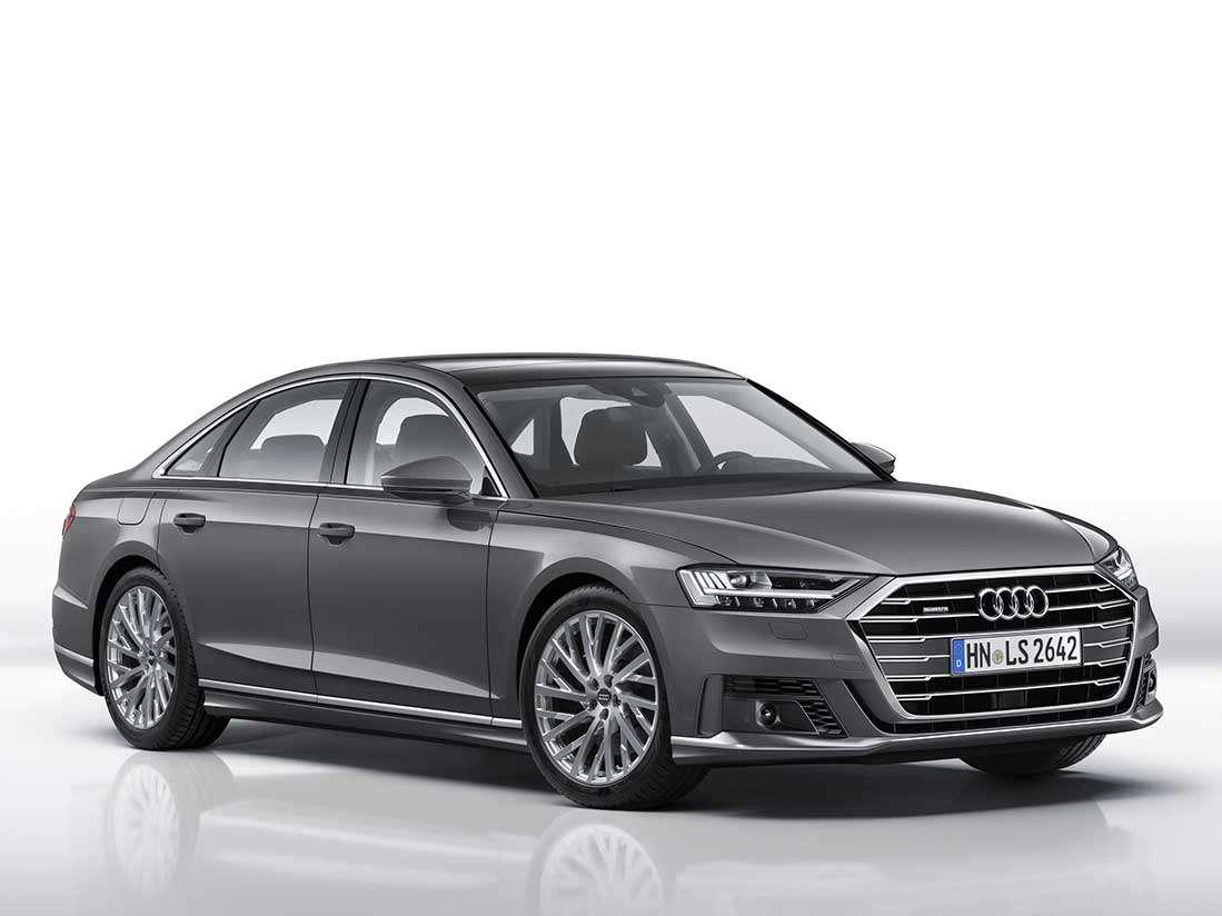 Más dinamismo para el nuevo Audi A8 con el paquete exterior deportivo