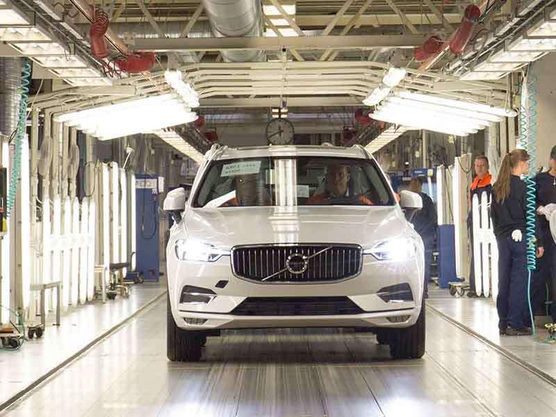 El Volvo XC60 es el vehículo más seguro de 2017 en las pruebas Euro NCAP