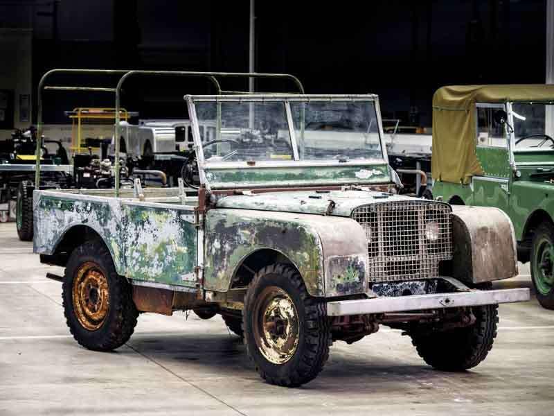 Land Rover celebrará su 70º Aniversario con la restauración de su primer 4x4