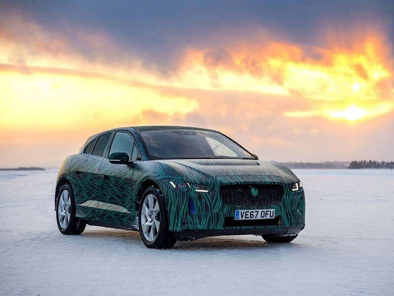 El Jaguar I-Pace será presentado en el Salón de Ginebra 2018