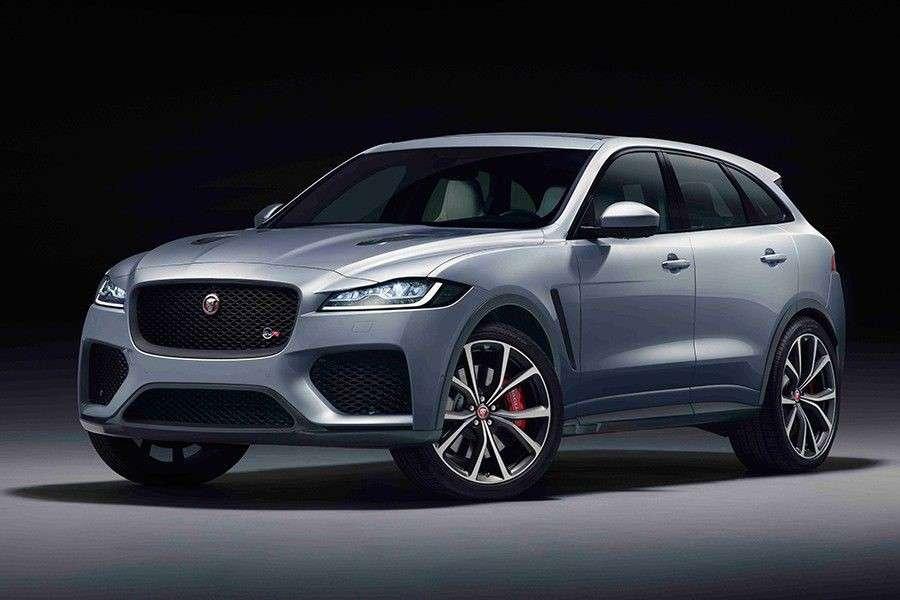 Jaguar F-Pace SVR: Escalofríos de serie