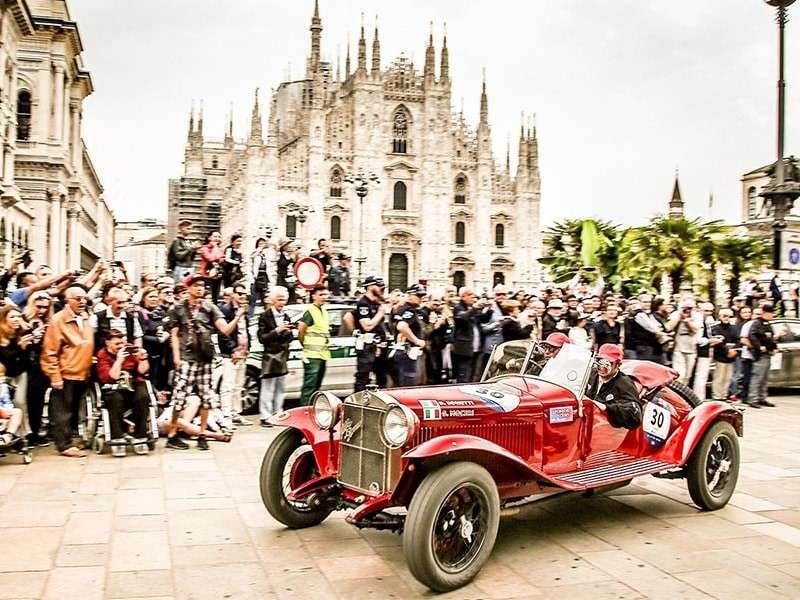 La Mille Miglia 2018 es un triunfo para Alfa Romeo
