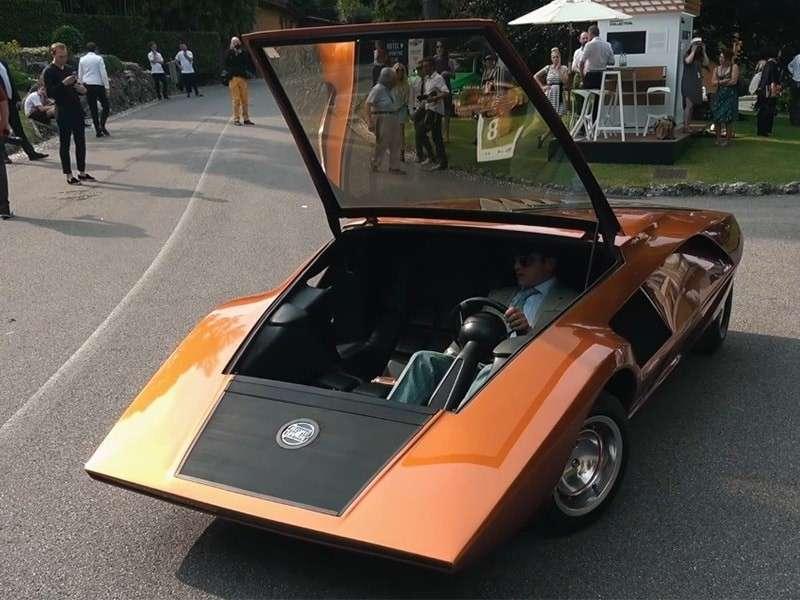 Lancia Stratos HF Zero: la estrella del Villa d
