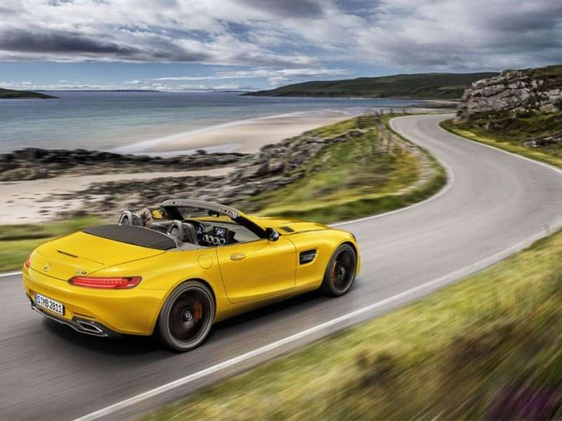 Llega el nuevo Mercedes-AMG GT S Roadster a la familia de Affalterbach