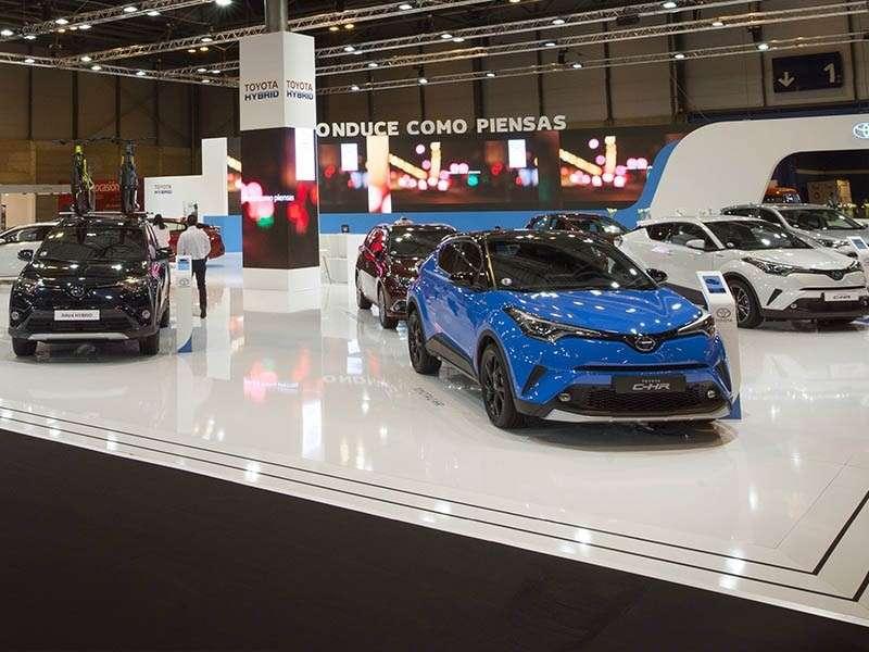 Dos novedades Toyota en Madrid Auto 2018