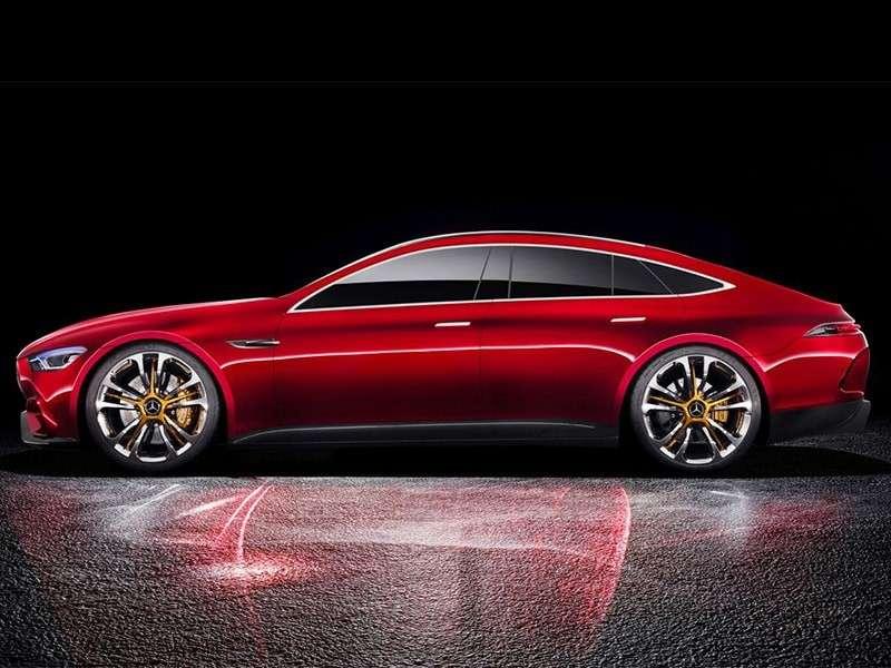 Máxima expresión: el diseño del Mercedes-AMG GT Concept