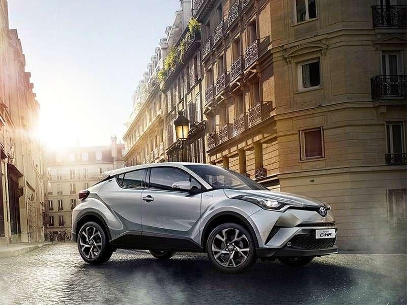 Toyota C-HR hybrid: líder absoluto del mercado español de tecnologías alternativas