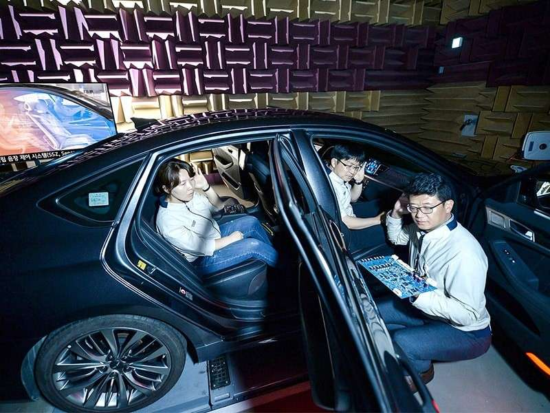 Hyundai Motor Company presenta la Tecnología de zona de sonido separada