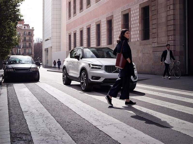 Volvo XC40: El coche del Año en Europa recibe cinco estrellas en la valoración de Euro NCAP